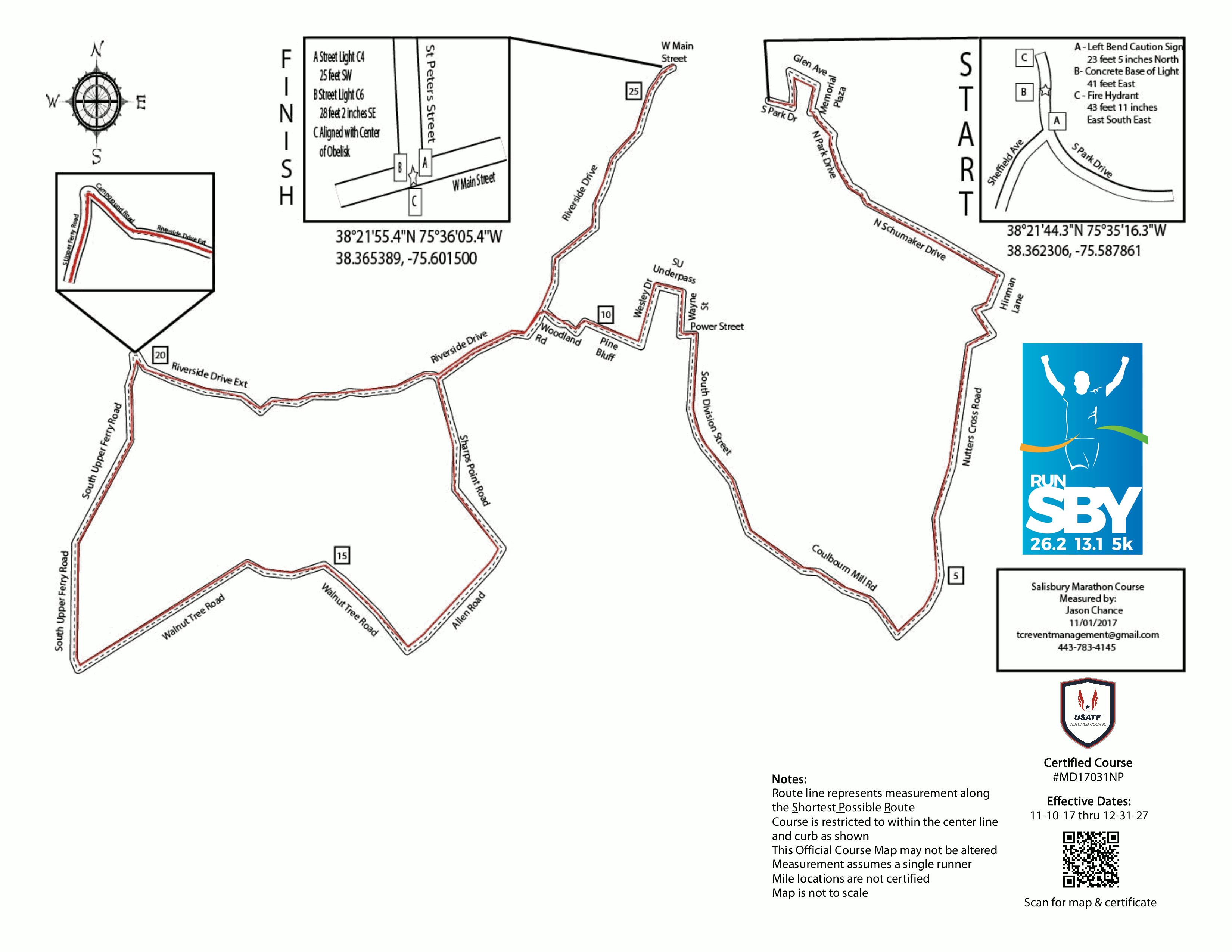 Sby Marathon And Half Marathon Courses Become Boston New York